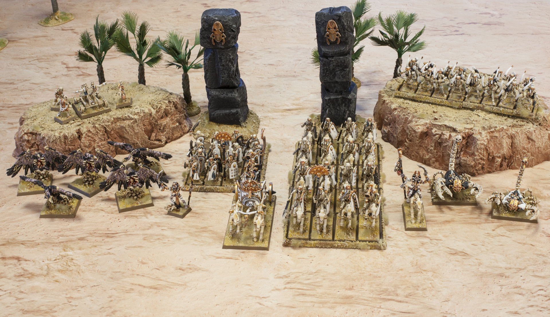 tomb kings battle strategy